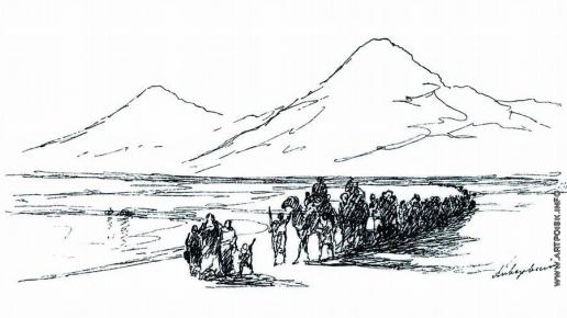 Айвазовский И. К. Сошествие Ноя с Арарата
