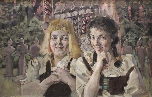 Врубель М. А. Гензель и Гретель