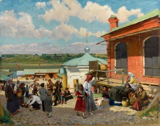 Маковский А. В. Вид на Плес