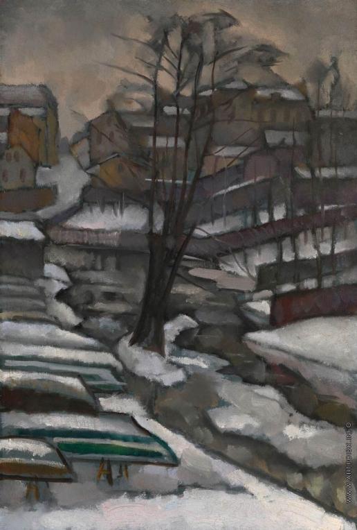 Баранов-Россинэ В. Д. Санкт-Петербург зимой