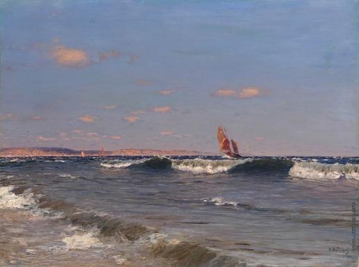 Дубовской Н. Н. Набегающие волны
