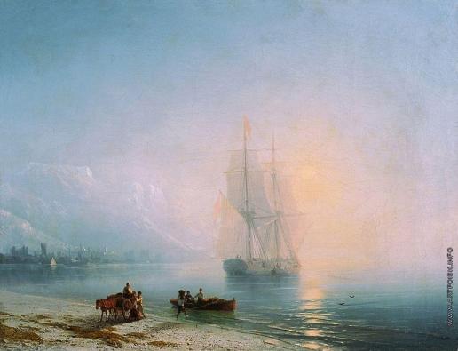 Айвазовский И. К. Спокойное море