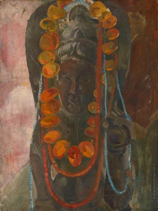 Анисфельд Б. И. Будда с гирляндой