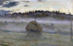 Жуковский С. Ю. Туманное утро