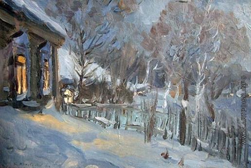 Жуковский С. Ю. Зимний вечер