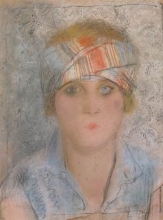 Челищев П. Ф. Женский портрет