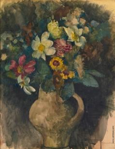 Челищев П. Ф. Цветы