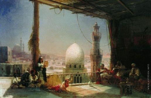Айвазовский И. К. Сцены из каирской жизни