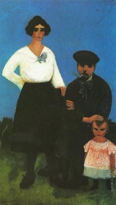 Адливанкин С. Я. Семья художника