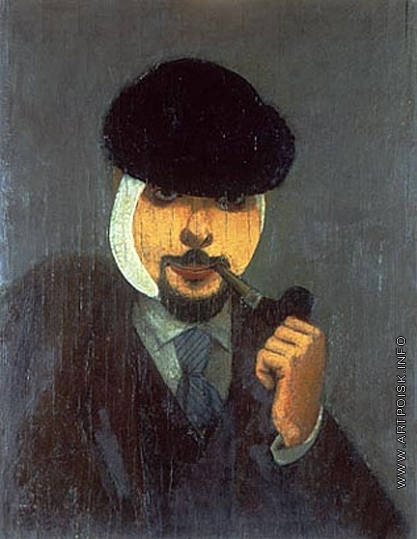 Адливанкин С. Я. Уполномоченный Самарского ВХУТЕМАСа. Автопортрет.