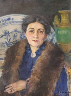 Качура-Фалилеева Е. Н. Женский портрет