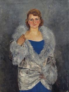 Качура-Фалилеева Е. Н. Портрет дамы