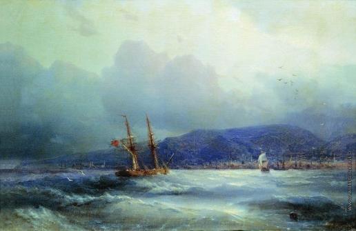 Айвазовский И. К. Трапезунд с моря