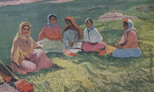 Абдуллаев М. Г. Масаллинские девушки