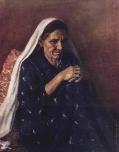 Абдуллаев А. А. Портрет матери