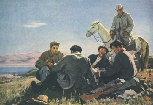 Айтиев Г. А. Чабаны