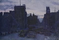 Абакумов В. В. Ночной Мадрид