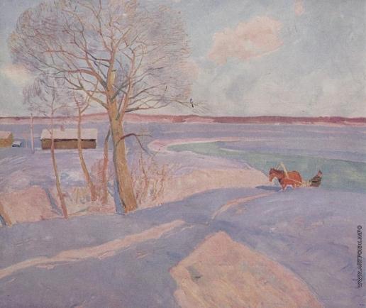Анохин Ю. Н. Русская зима