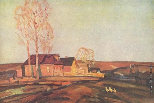 Анохин Ю. Н. Деревня
