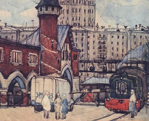 Аралова-Паттерсон В. И. Москва, заводской двор