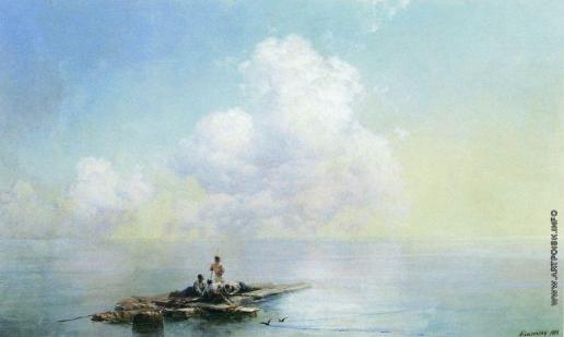 Айвазовский И. К. Утро после бури