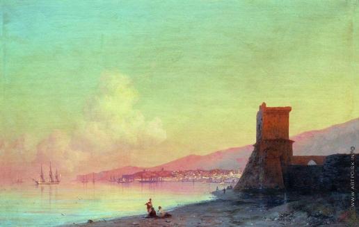 Айвазовский И. К. Феодосия. Восход солнца