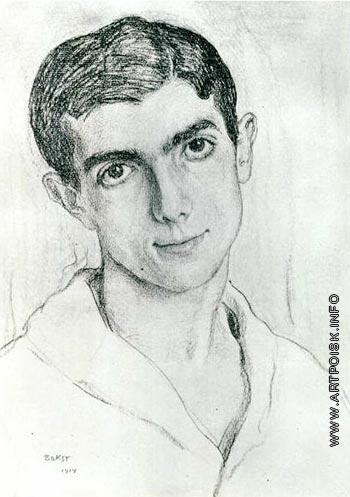 Бакст Л. С. Портрет Леонида Массина