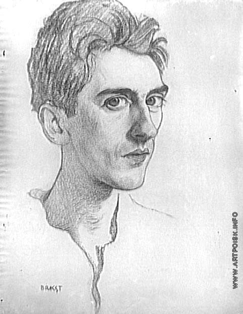 Бакст Л. С. Портрет Жана Кокто