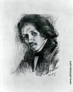 Бакст Л. С. Портрет Филиппа Малявина