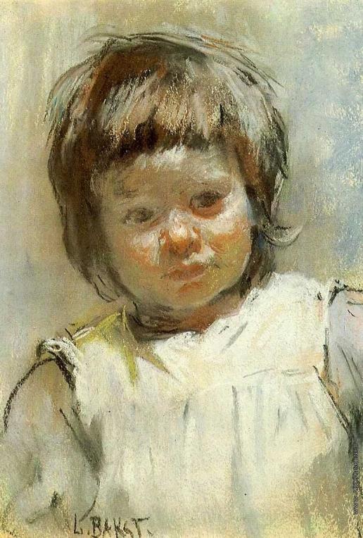 Бакст Л. С. Портрет Марии Марковны Клячко, племянницы художника