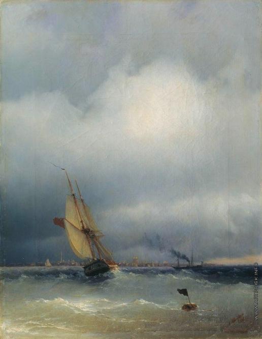 Айвазовский И. К. Финский залив
