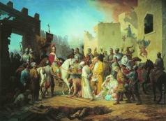 Шамшин П. М. Вступление Иоанна IV в Казань