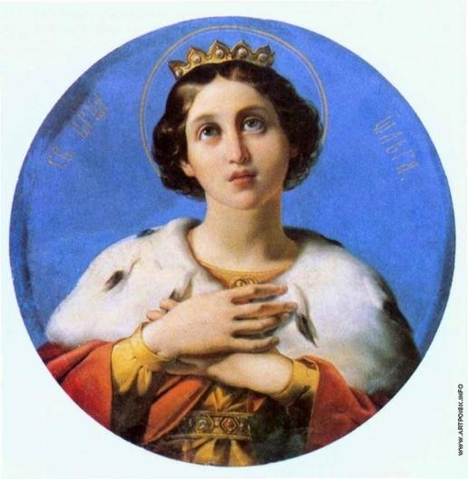 Шамшин П. М. Святая царица Ольга