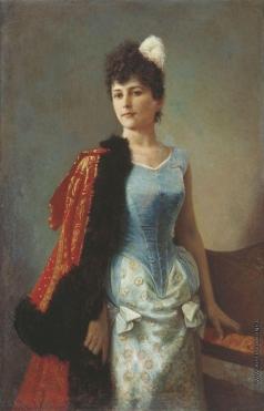 Вениг К. Б. Женский портрет