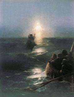 Айвазовский И. К. Хождение по водам