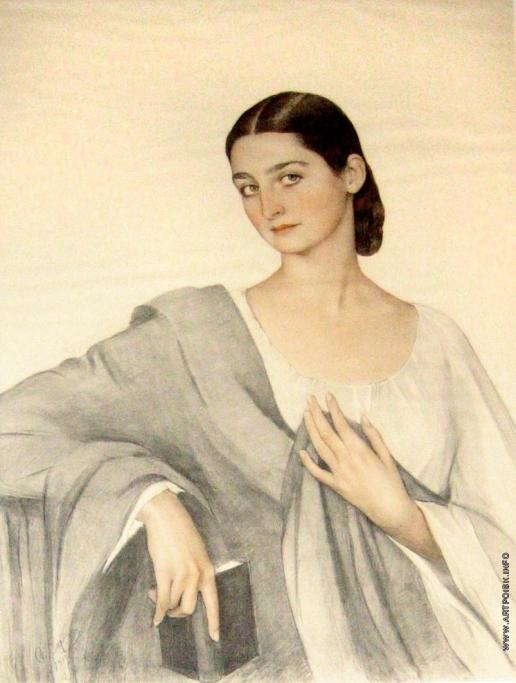 Сорин С. А. Портрет графини Элизо Дадиани