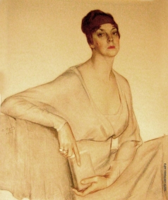 Сорин С. А. Портрет принцессы Ольги Орловой