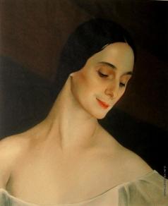 Сорин С. А. Портрет балерины Анны Павловой