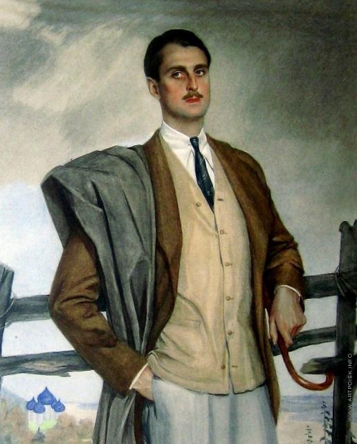 Сорин С. А. Мужской портрет