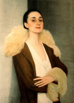 Сорин С. А. Портрет принцессы