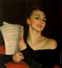 Сорин С. А. Женский портрет