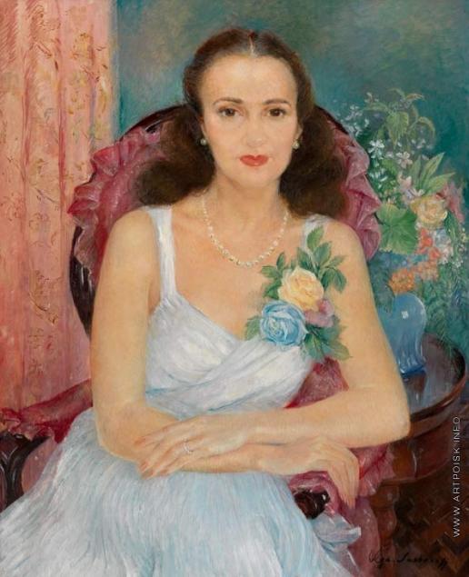 Сахарова О. Н. Портрет женщины