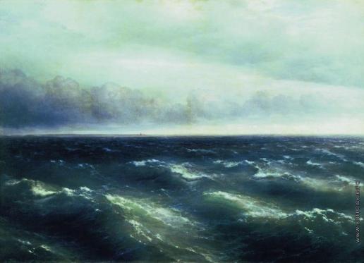 Айвазовский И. К. Черное море (На Черном море начинает разыгрываться буря)