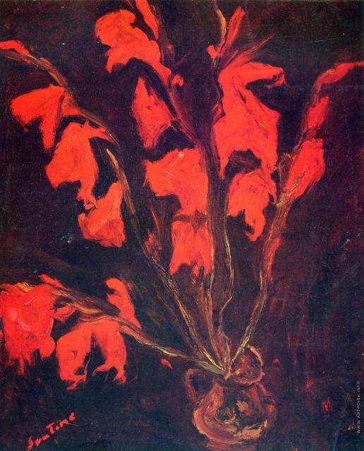 Сутин Х. С. Красные гладиолусы