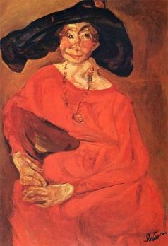 Сутин Х. С. Женщина в красном