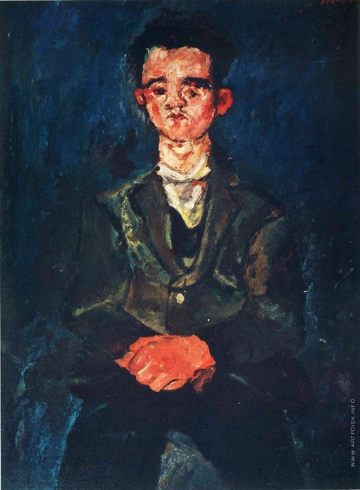 Сутин Х. С. Мужской портрет