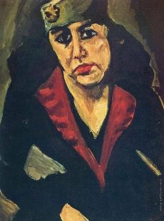 Сутин Х. С. Русская (женский портрет)