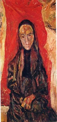 Сутин Х. С. Портрет вдовы