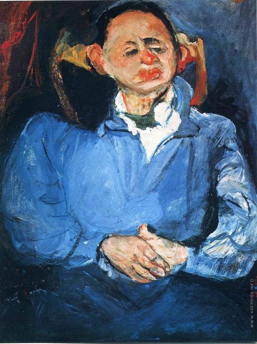 Сутин Х. С. Портрет скульптора Оскара Мещанинова