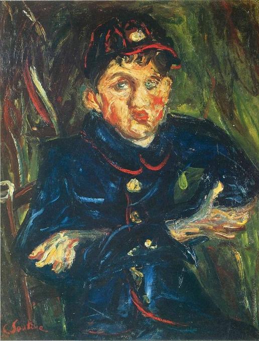 Сутин Х. С. Портрет